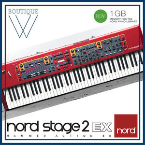 NORD STAGE 2 EX 88 [노드 스테이지 2 EX 88] 88 key Digital Stage Piano with Synth