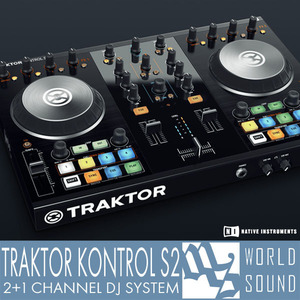 NATIVE INSTRUMENTS - TRAKTOR KONTROL S2 [N.I 공식판매점]
