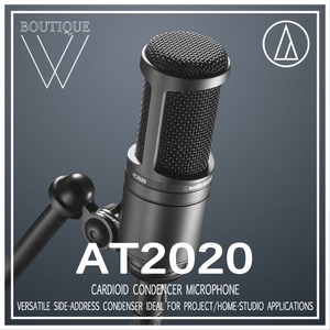 Audio-Technica - AT2020 [Audio Technica 공식판매점]