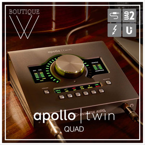 UNIVERSAL AUDIO - APOLLO TWIN MKII QUAD